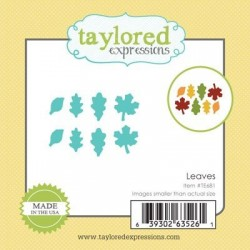 Taylored Expressions Little Bits - Leaves Blätter