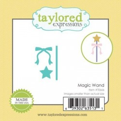 Taylored Expressions Little Bits - Magic Wand Zauberstab
