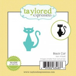 Taylored Expressions Little Bits - Black Cat Katze