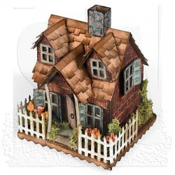 Sizzix Bigz Die - Haus Village Cottage
