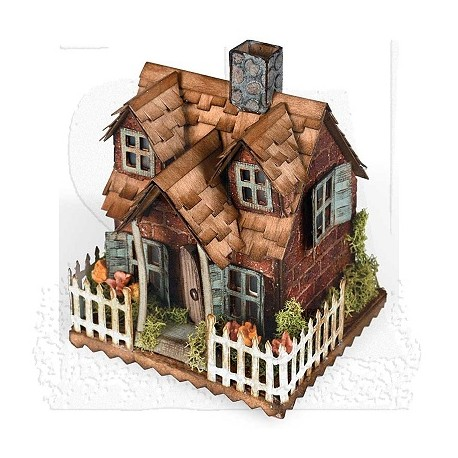 Sizzix Bigz Die - Village Cottage