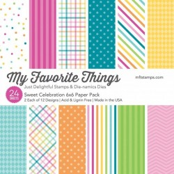 My Favorite Things Sweey Celebration 6x6 Inch Paper Pack