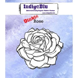 IndigoBlu Rose A7 Rubber Stamps
