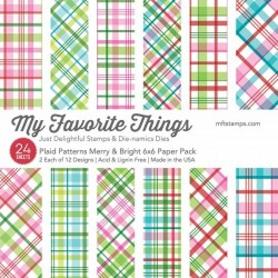 My Favorite Things Plaid Patterins Merry & Bright