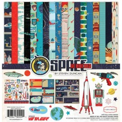 Carta Bella Space Academy Collection Kit 12x12 Inch Collection Kit