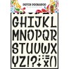Dutch Doobadoo Dutch Stencil Art Alphabet 5 A4