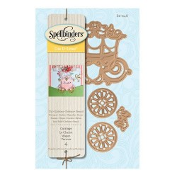 Spellbinders Carriage Die D-Lites
