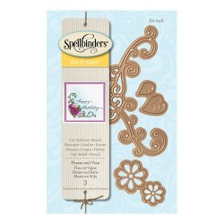 Spellbinders Flower And Vine Die D-Lites