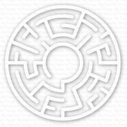 My Favorite Things Maze Shapes - White