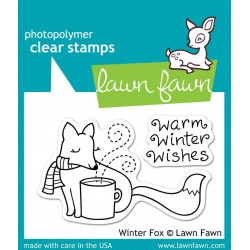 Lawn Fawn Winter Fox