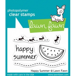 Lawn Fawn Happy Summer