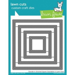 Lawn Fawn Outside In Stitched Square Stackables
