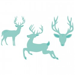 Kaisercraft decorative die three deers