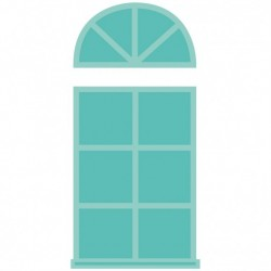 Kaisercraft decorative die windows 2 parts