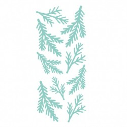 Kaisercraft decorative die fir sprigs panel