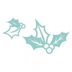 Kaisercraft decorative die holly 2