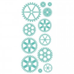 Kaisercraft decorative die cogs panel