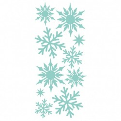 Kaisercraft decorative die snowflake panel
