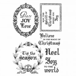 Kaisercraft clear stamp Letters to santa