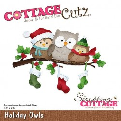 Scrapping Cottage Holiday Owls