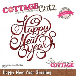 crapping Cottage Happy New Year Greeting