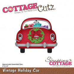 Scrapping Cottage Vintage Holiday Car