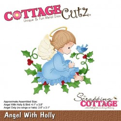 Scrapping Cottage Angel With Holly