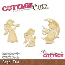 Scrapping Cottage Angel Trio