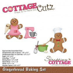 Scrapping Cottage Gingerbread Baking Set