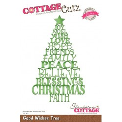 Scrapping Cottage Good Wishes Tree