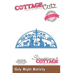 Scrapping Cottage Holy Night Nativity