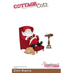 Scrapping Cottage Santa Napping
