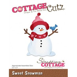 Scrapping Cottage Sweet Snowman Schneemann