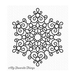 My Favorite Things Mesmerising Mandala Background Stamp
