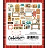 Carta Bella Cowboy Country Ephemera Frames & Tags