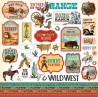 Carta Bella Cowboy Country 12x12 Inch Element Sticker