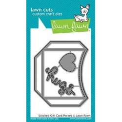 Lawn Fawn Stitched Gift Card Pocket