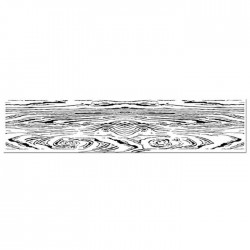 Stamperia Natural Rubber Stamp Wooden Effect