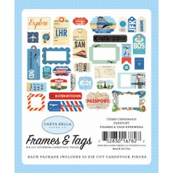 Carta Bella Passport Frames & Tags