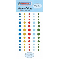Carta Bella Passport Enamel Dots