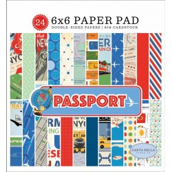 Carta Bella Passport 6x6 Inch Paper Pad