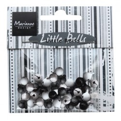 Marianne D Decoration Bells - Black & White JU0941 (New 01-15)
