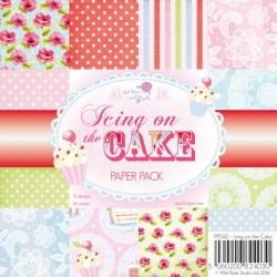 Wild Rose Studio - 6''x 6'' Paper Pack - Icing on the Cake