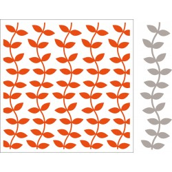 Marianne D Embossing folder + die Leaves