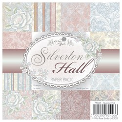 Wild Rose Studio`s 6x6 Paper Pack Silverton Hall