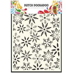 Dutch Doobadoo Dutch Mask Art stencil Eiskristalle A5
