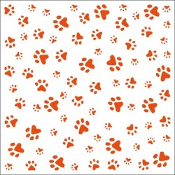 Marianne D Embossing folder Paws